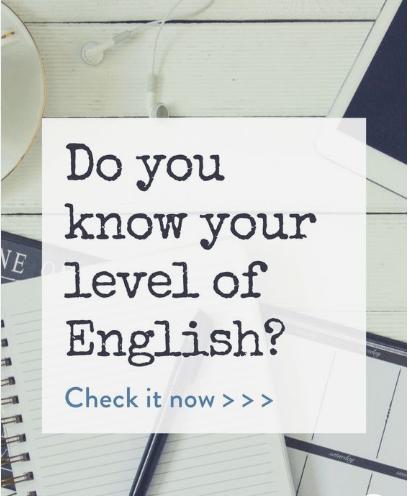 перевір свій рівень англійськоі